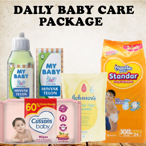 PROMO PAKET 4 PCS .. KEBUTUHAN BABY Deals for only Rp179.000 instead of Rp179.000