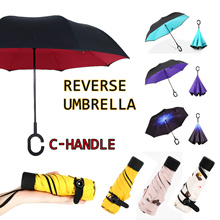 OMAX SG SELLER ★REVERSE UMBRELLA ★ INVERTED ORIGINAL UMBRELLA ★ MINI UMBRELLA