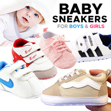 [ORTE] Baby Sneakers SALE ★Sport Shoes for Diapers Boy Girl Toddler Prewalker Diapers★ Fast Delivery