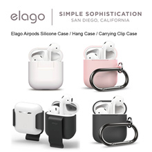 Elago Airpods Silicone Case / Hang Case / Carrying Clip Case / ★ NEW ★ Waterproof Hang Case