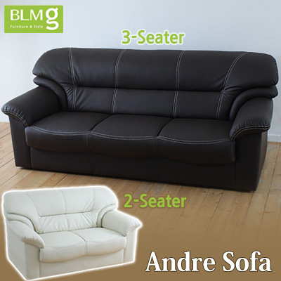 Qoo10 - Andre Sofa 2/3 seaters the longest 1360mm/ 3 seaters 1800mm ...