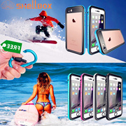 IP68 Underwater Diving Swim Dust Proof Case Clear Back Cover for iPhone 6 6s 6Plus 7 8 Plus + FREE O