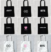 방탄 소년단 블랙 핑크 2 차 exo 에코 백 숄 더 백 좌우 동일