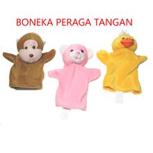 Mainan Edukasi Boneka Peraga Tangan