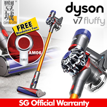 [Gain City] (Free AM06 Bladeless Fan!) DYSON V7-Fluffy Cordless Vacuum / SG Official Warranty // limited set GRAB NOW !