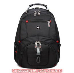 Swiss Mens Backpack female Travel School Bag for quality Laptop 15Inch Notebook Computer bagpack