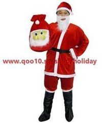 M74 Christmas costume party dress prom dress adult male Santa Claus Night