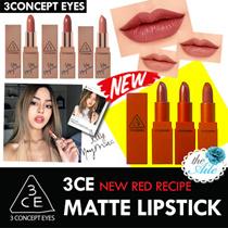 [3CE/3concepteyes]3CE MATTE LIP COLOR / MOOD RECIPE / LILY MAYMAC / RED RECIPE / LIQUIED LIP BALM