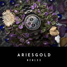 [ARIES GOLD TIMEPIECE] - 2 Years International Warranty
