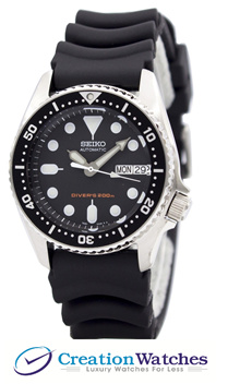 [CreationWatches] Seiko Automatic Divers 200M SKX013 SKX013K1 SKX013K Men s Watch