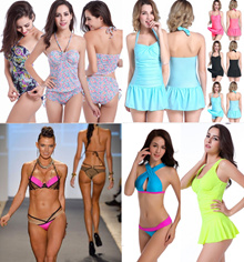 2018 fashion Swimwear swimming wear swimsuit for women sexy bikini rashguard