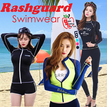 Women Swimwear Rashguard UV Protection Swimming Wear Women Swimming Suit Tankini