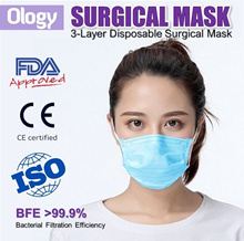 Medical Surgical Mask Disposable 3PLY Anti ConoraVirus Adults Children Earloop Masks