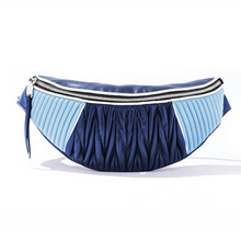 outlet Emarald Fold Belt Bag For Women Fashion Leather Fanny Packs Phone chest bum Waist Bag Women Z