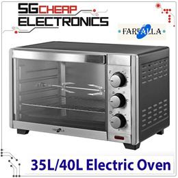 Farfalla Electric Oven [35L/45L] [FEO-35DRML | FEO-45DRML] (2 Model) - Official 1 Year Warranty