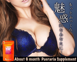 [Ogaland] Pueraria Mirifica Made in Japan. (180 capsules / about 6 month
