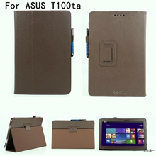 Leather Flip case for ASUS Transformer Book T100TA 12628