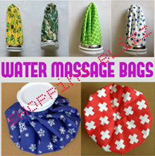 [On Sale Now] Hot Cold Massage Pack Water Ice Bag No Leakage Healthcare for Athletes