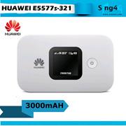 Huawei E5577 E5577s321 WHITE 4G 3000mAH 10 Hr MIFI Portable Hotspot modem