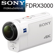 Sony FDRX3000/W Underwater Camcorder 4K without memory DRX-3000 New
