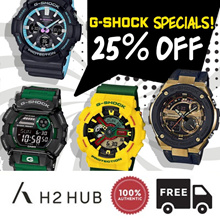 Casio G-Shock Series | 25% OFF | Authentic Products with Free Shipping and International Warranty