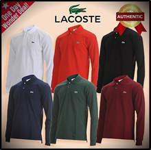 ▶ Lacoste◀ long-sleeved T-shirt classic basic