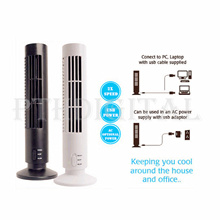 Tuansing Home Office USB Mini Fan No Blades DC 5 V Ventilateur Table Fan Cooling Tower No leaf Bladeless Fans Air Conditioner