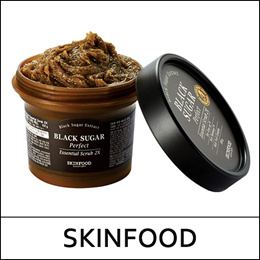 [SKINFOOD] (hp) Black Sugar Perfect Essential Scrub 2X 210g