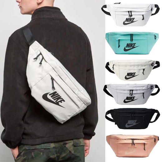 Qoo10 N I K E Tech Hip Pack Crossbody Crosschest Bag Sling Bag Men S Bags Shoes