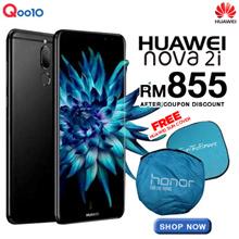 Ready Stock (Buy at RM 855 with RM 120 discount coupon) HUAWEI NOVA 2i 4GB/64GB ROM - Huawei Malaysia Warranty [Free Gift - Huawei Sun Cover]