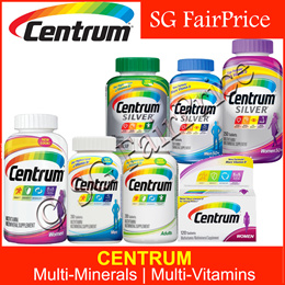 ★Centrum★ CLEARANCE SALE! Silver | MultiVitamin | MultiMineral Supplement for Adults | Women | Men