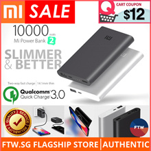 [USE $12 QOO10 COUPON!] Xiaomi 100% Authentic Baseus USAMS Wall Charger Wireless Charging Power Bank