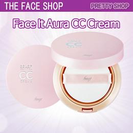 ★The Face Shop★Face It Aura Color Control CC Cream