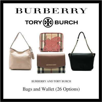 Burberry and Tory Burch Bags Wallets and Scarf (Available In 26 Options)