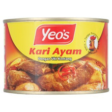 [ Halal Certification ] Yeo s Chicken Curry with Potatoes 405g