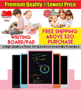 [FREE SHIPPING] LCD Electronics Writing Pad / Writing Tablet / Writing Board /Toys Stationeries