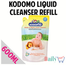 Kodomo Cheapest Baby Bottle and Accessories Liquid Cleanser. 600ml refill. All natural ingredients