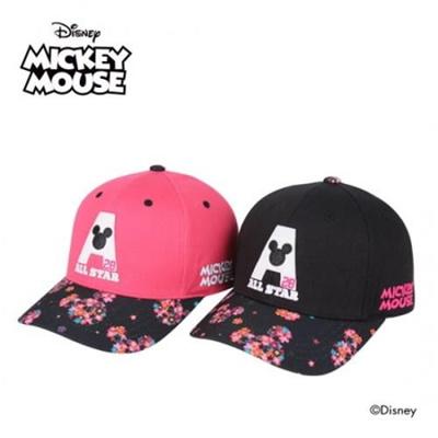 55e1e570d1e2 [OFFICIAL KOREA AK PLAZA][Cap 10] mickey mouse inicial A baseaball cap