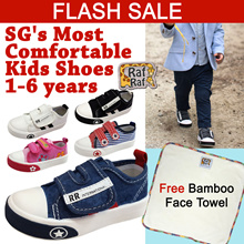 [FLASH DEAL]RAF RAF★1-6 years Kids Shoes★Boys Girls Shoes★Toddlers★Casual Shoes★Lightweight Sneakers