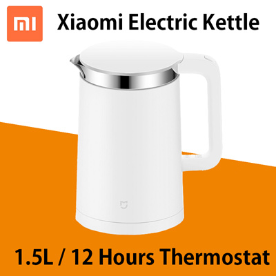 Xiaomi Mijia Thermostatic Electric Kettle 1 5l 12 Hour Thermostat Support App Control Fast Boiling