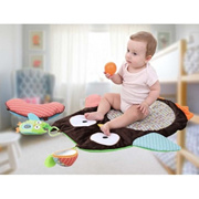 SPPHOP Tummy Time Mat Cute Cartoon Owl Baby Infant Crawling Play Mat