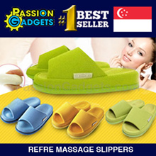 【Popular Japanese Refre Slipper】 Magic Massages / Health shoes bedroom home footwear Same Massages