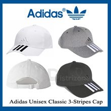 Adidas Unisex Classic 3-Stripes Cap Navy / White / Black