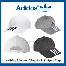 Adidas Unisex Classic 3-Stripes Cap Navy / White / Black