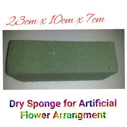 Florist dry sponge for artificial flowers flower arrangement or wet sponge for fresh flower