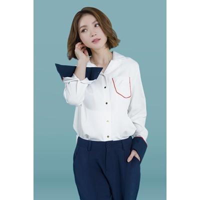 10. pocket detail shirt - white - free