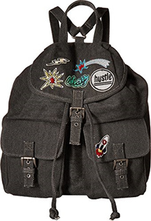 4339162505 Steve Madden Womens Bdillian Backpack Charcoal One Size