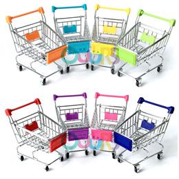 Mini Trolley l Push Cart l Mini Supermarket Handcart l Shoping Cart l Storage l Toy