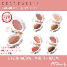 ♥Lowest Price♥ [Dear Dahlia] Paradise Dual Palette /Eye Shadow /Semi-Matte /Multi-Balm
