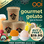[Ramadan Special] BUY 2 FREE 1 Halal Gelato Ice Cream by OOI GELATO | 2 New Flavours Launched!